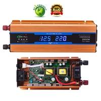 Professional 2600W Car Inverter DC 12 V to AC 220 V Power Inverter Charger Transformer Vehicle Power Inverter Power Switch