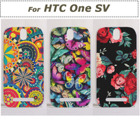 Promotion Wholesale Painted Matte Plasttic PC Protective Shell Mobile Phone Case Cover For HTC ONE SV