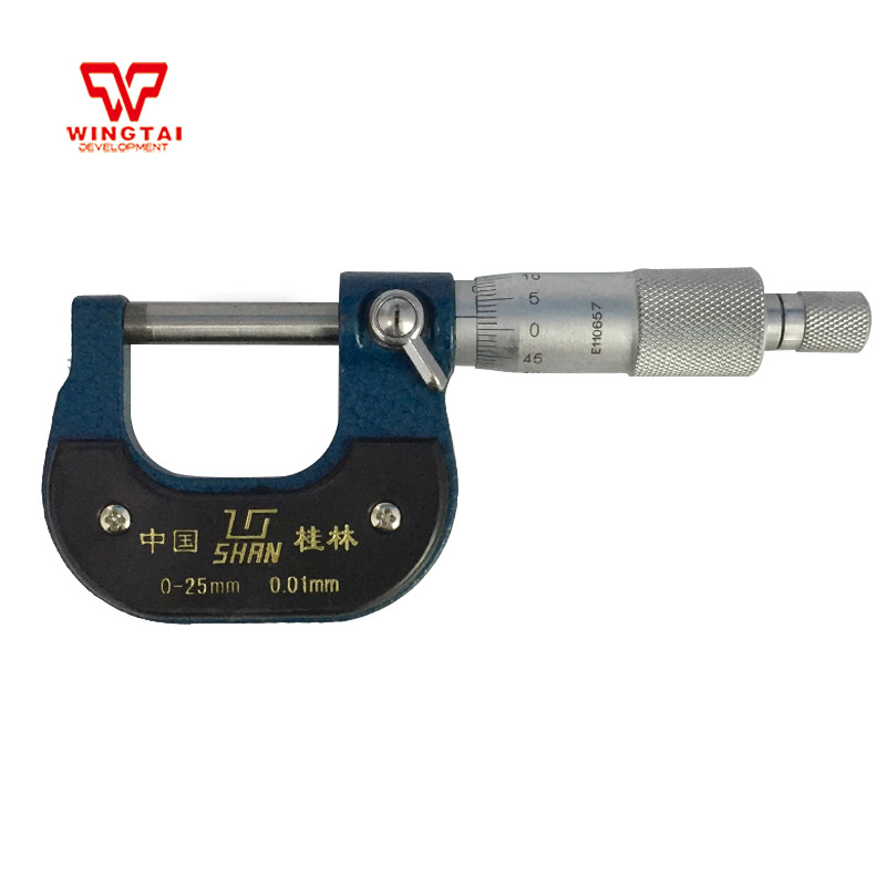 0-25mm 0.01mm Outside Micrometer