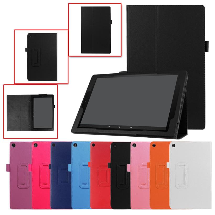 Nuevo 2018 para Amazon Kindle Fire HD 10 2017 7th Gen cubierta de cuero magnética del caso del soporte envío de la gota J09T envío shiping