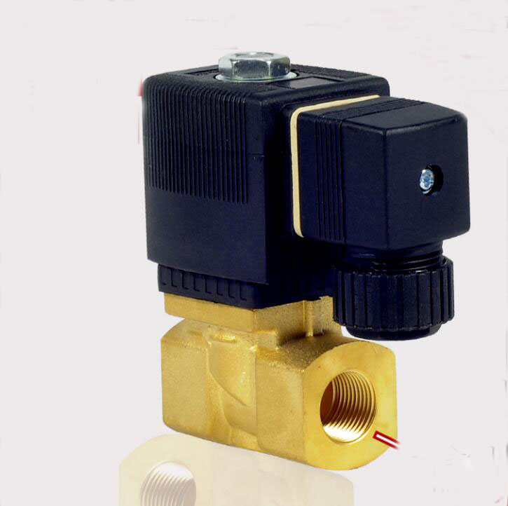 1/2 2/2 way high pressure high temperature brass solenoid valve water valve 5404 series