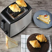 Toaster Home 2 Pieces Mini Automatic Breakfast Toast