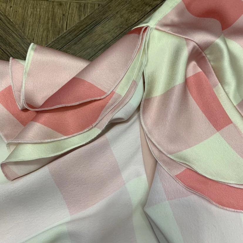 Principios 2019 De Costura Rosa Mujer A La Irregular Primavera Rosado Cola Pescado Falda Señoras Cuadros 0328 dTBnTrU