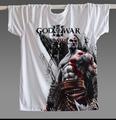 2017 Summer New Men T-shirt God of war 3D Printing Fashion Punk Shirt Rock band Casual Tee Shirt Black Size S-XL
