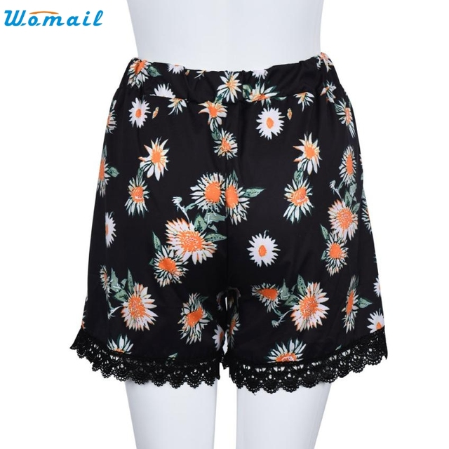 Durable 2016 Summer Style  shorts women Women Sexy Hot  Summer Casual Shorts High Waist Short Beach pantalon femme