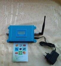 Мобильный телефон GSM усилитель сигнала GSM980 усилитель сигнала повторитель с ЖК-дисплеем комнатную антенну адаптер питания
