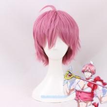 Tree&Sea Tokyo Anime Ore Women cosplay Magical Twin girl Uno Saki pink hair wig