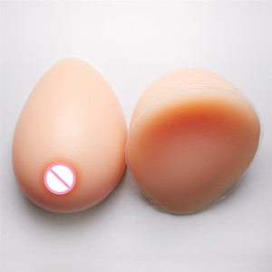 Image 4 - Big Promotion Artificial Breast Forms Silicone Breast Fake Boobs 2800g/pair For Drag Queen Crossdresser Transgender