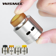 Original WISMEC Guillotine RDA Atomizer 24mm Diameter Guillotine Rebuildable Atomizer Match Reuleaux RX Machina Mod Vape E-cig