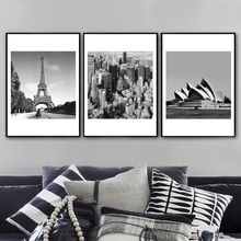 Paris New York Sydney Wall Art Canvas Painting Nordic Posters And Prints Pictures For Living Room Scandinavian Home Decor
