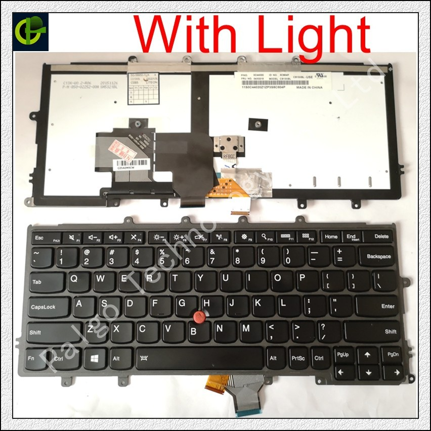 English Backlit Keyboard for FOR Lenovo IBM Thinkpad X230S X240 X240S X250 X260 0C44711 X240I X260S X250S X270 01EP008 01EP084