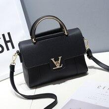 Aolen Luxury Famous Brand Women PU Leather Handbag Designer Female Tote Bag Louis Shoulder Bags Sac