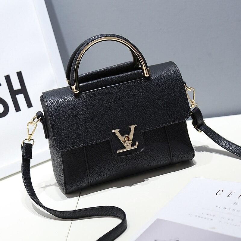 Aolen Luxury Famous Brand Women PU font b Leather b font font b Handbag b font