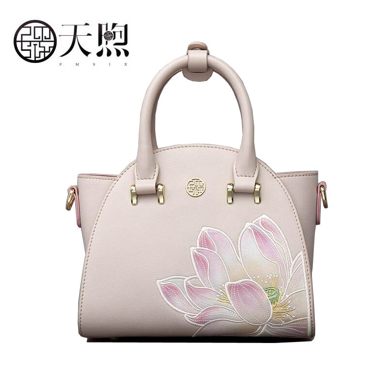 2019 nouvelle broderie mode chinois style sac à main femme aile sac épaule messenger sac