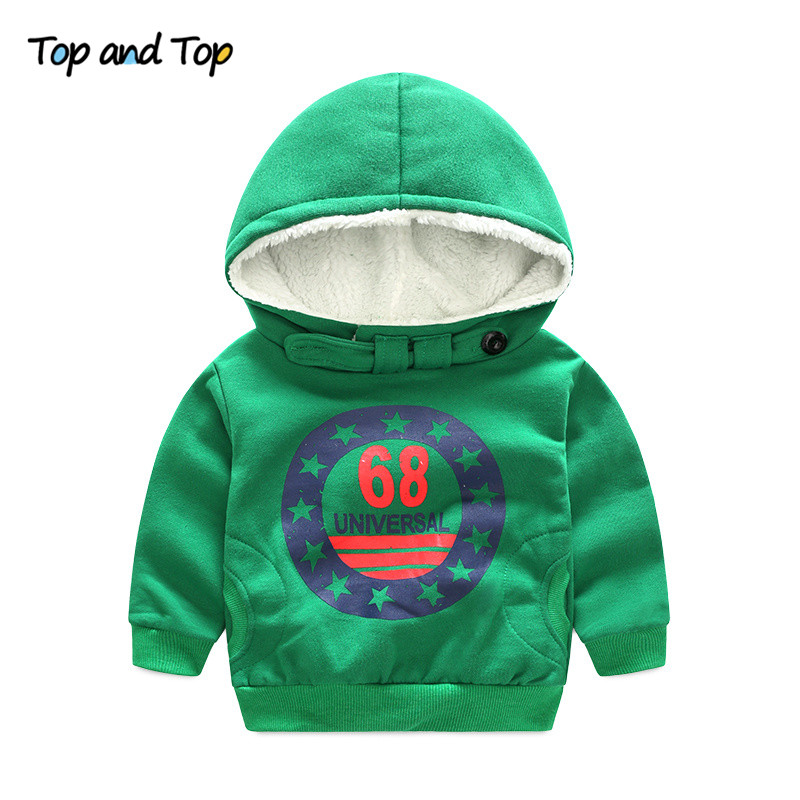Cartoon 6 8 Baby Boys Girls Kids Coat Hoodie Jacket  Pullover Outwear Boys' Hoodies 1