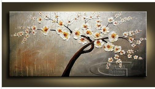 Di alta qualità enorme fiori lama pittura a olio per soggiorno ...