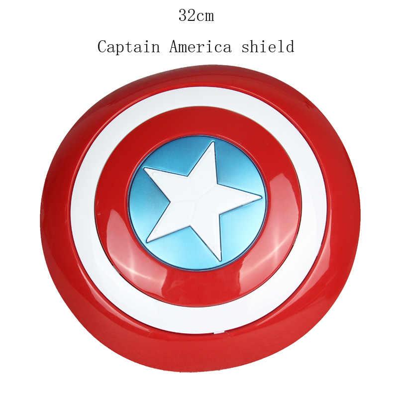 アベンジャーズ Endgame 32 センチメートルキャプテンアメリカシールドハロウィンコスプレ小道具 28 センチメートルトールハンマーモデル