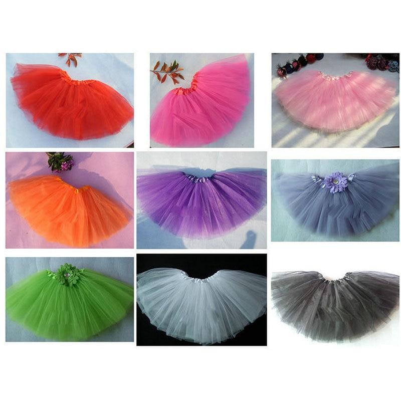 2016 Sweet Cute Girl Dance Tulle Tutu Ballet Fluffy Platter font b Skirt b font Costume