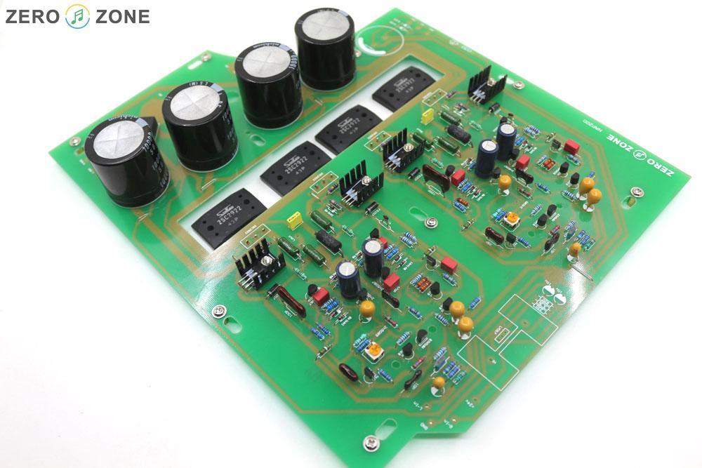 GZLOZONE Montado Caixa Preta Clone Naim NAP200 Amplificador DIY Placa Amplificador De Potência de 75 W + 75 W