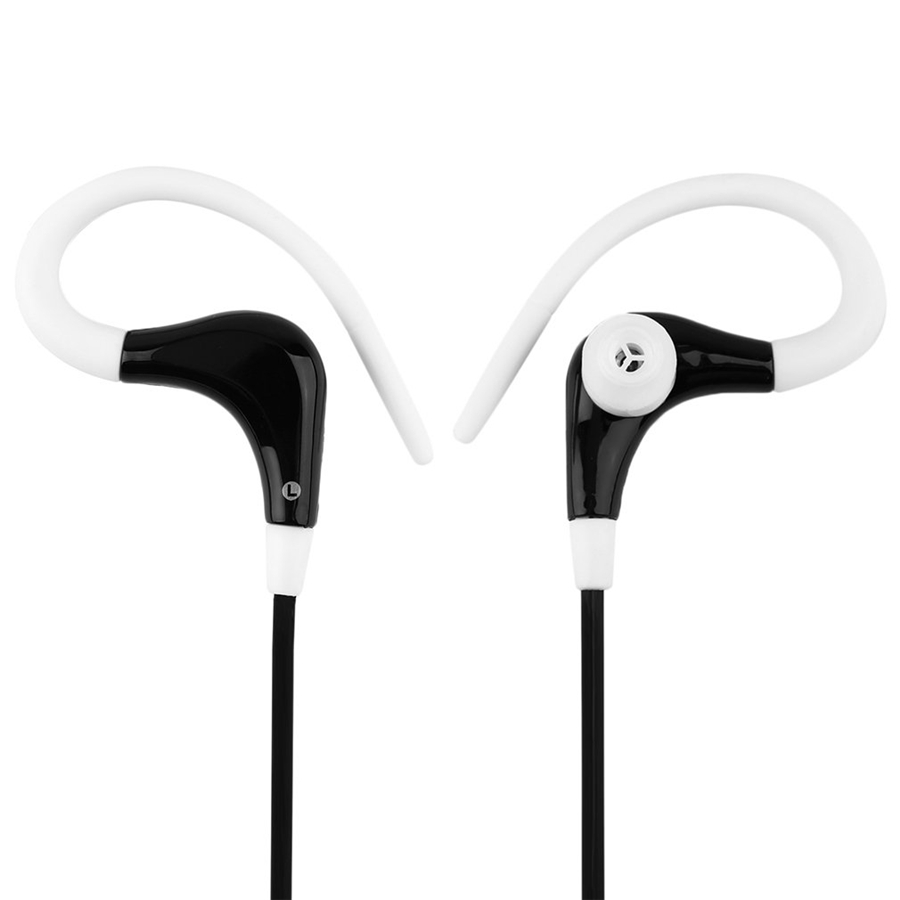Sports Running Ear Hook Headset Active Earbud Metal Earphone Super Clear Handsfree call For iphone7 6 5s huawei xiaomi MP3/mp4