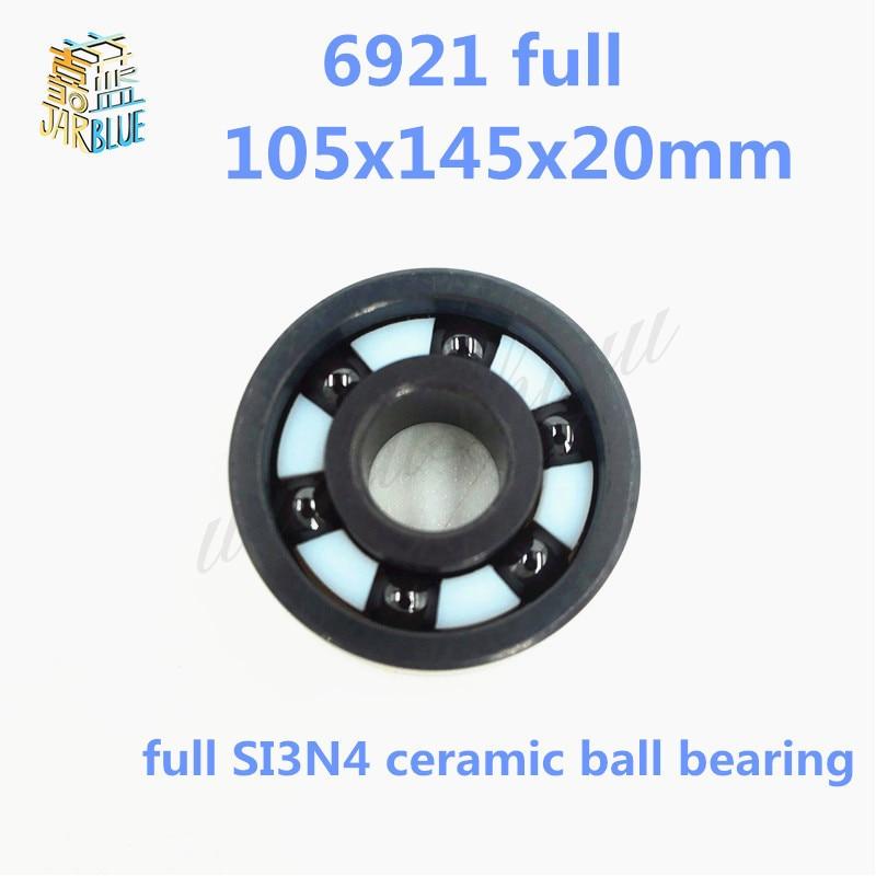 Free shipping high quality 6921 full SI3N4 ceramic deep groove ball bearing 105x145x20mmFree shipping high quality 6921 full SI3N4 ceramic deep groove ball bearing 105x145x20mm