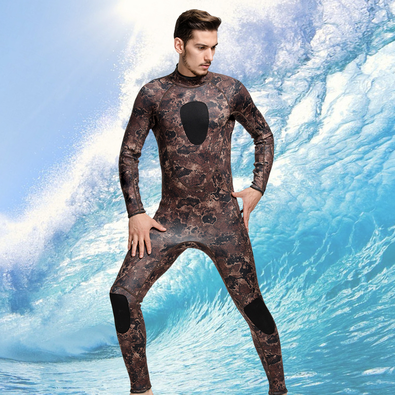 SBART 3mm Neoprene Men Camouflage Full Body Wetsuit Spearfishing Fishing Swimwear Scuba Diving Suit Jumpsuit Snorkeling Wetsuit sbart 3mm neoprene men camouflage full body wetsuit spearfishing fishing swimwear scuba diving suit jumpsuit snorkeling wetsuit