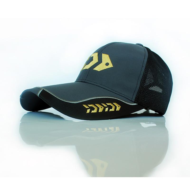 Summer New Fishing Hat Sunscreen Anti-ultraviolet Mesh Breathable Long Brim Comfortable Riding Cap