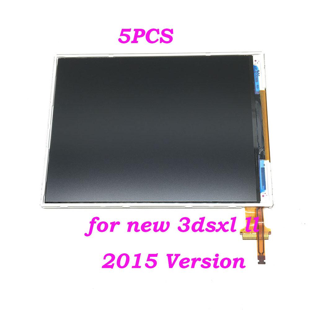 Prix pour 5 PCS 2015 Modèle Pour Nintendo 3DS LL XL Remplacement Botton Inférieur LCD Écran D'affichage Pour Nouveau 3 DSLL