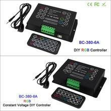 3CH Led RGB strip Controller DC12V-24V 6A*3CH / 8A*3CH CV DIY with Wireless remote for 5050 3528 led light