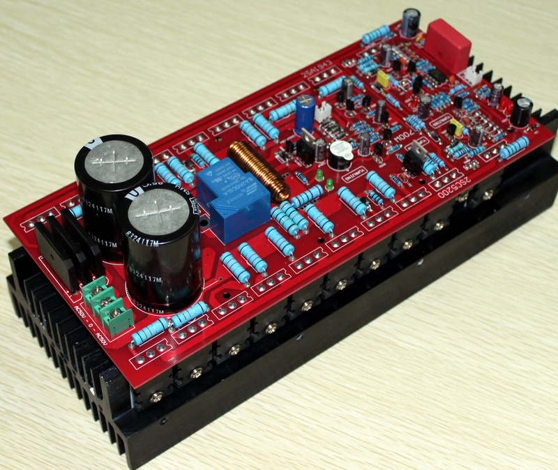 Dual AC45-50V AC (700W) High Power class A amplifier/ single AC 15V (10W) mono amplifier(not contain heat sinks)