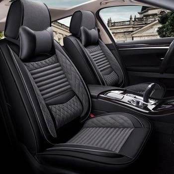 Front+Rear Car Seat Cover for volvo 850 c30 s40 s60 s80 s80l v40 v50 v60 v70 xc60 xc70 xc90 of 2018 2017 2016 2015