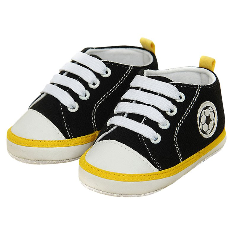 Toddler Baby Girls Boys Soft Sole Crib Shoes Non-slip Sneakers First Prewalkers 0-18M LL1