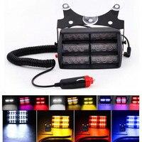 Car 18 LED Warning Light Flashing Dash Strobe Emergency Lamp Amber Truck SUV New