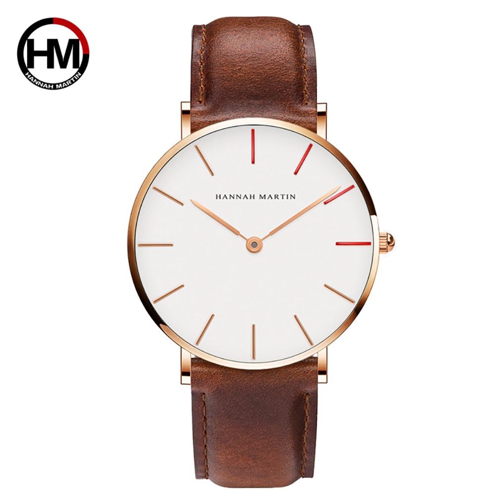 Top Luxury Brand Men Women Relojes de pulsera Japón Quartz Simple - Relojes para hombres