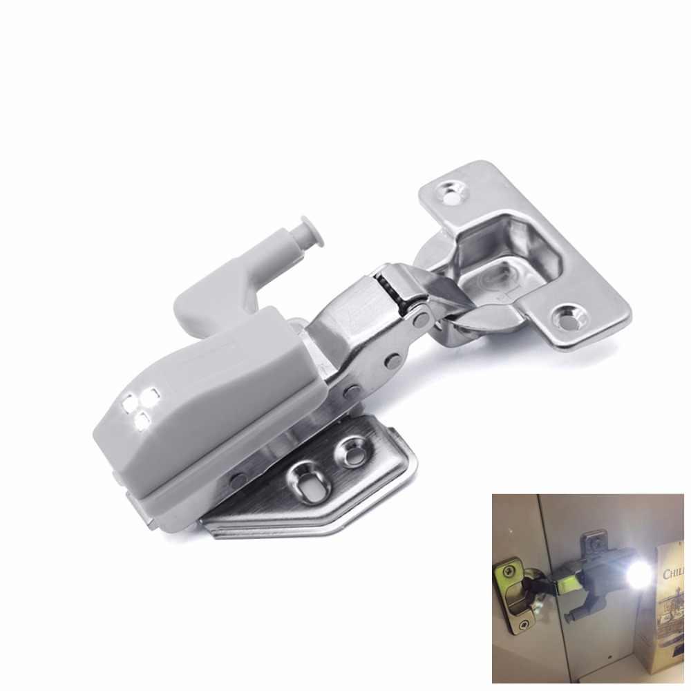 0.3W DC12V battery powered LED sensor lamp automatic on/off DC12V sensor Hinge light for Furniture Kitchen Bedroom wardrobe