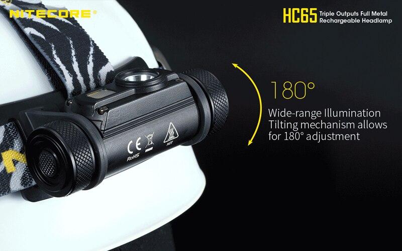 Nitecore HC65 1000 Lumens Rechargeable Headlamp (21)