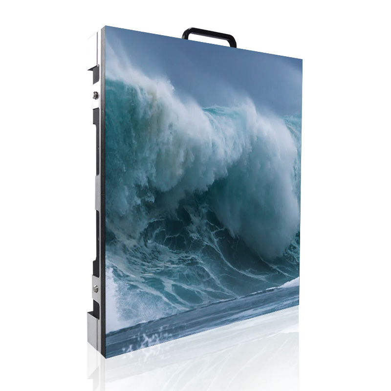 P4.81 Indoor Full Color Smd Rental Led Display Panel, 500x500mm Die-casting Aluminum Cabinet Led Screen For Event