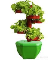 DIY standing Hydroponics system NFT with 56pcs of net cup. Nutrient Film Technique (NFT) PVC pipe plant pot plant nursery pot