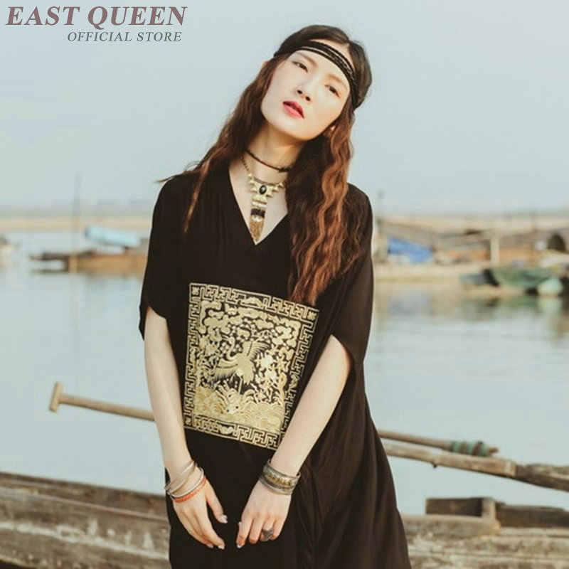 9f8ba82a4de ... Chinese style oriental dresses dragon costume modern qipao Japanese  kimono modern Boho chic mexican hippie dress ...