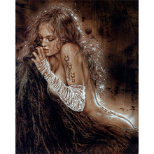 Hot beauty diamond Embroidery diy painting mosaic diamant 3d cross stitch pictures H659