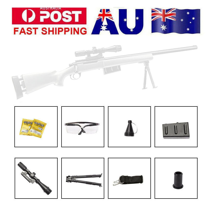 Zhenduo GJ M24 tireur d'élite jouet pistolet Gel balle Blaster Au stock