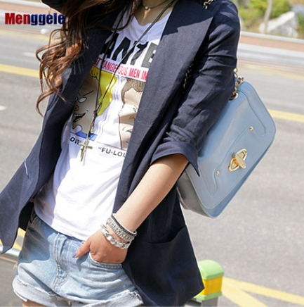 women s 2019 new style summer and autumn large size loose suit Europe and America hot