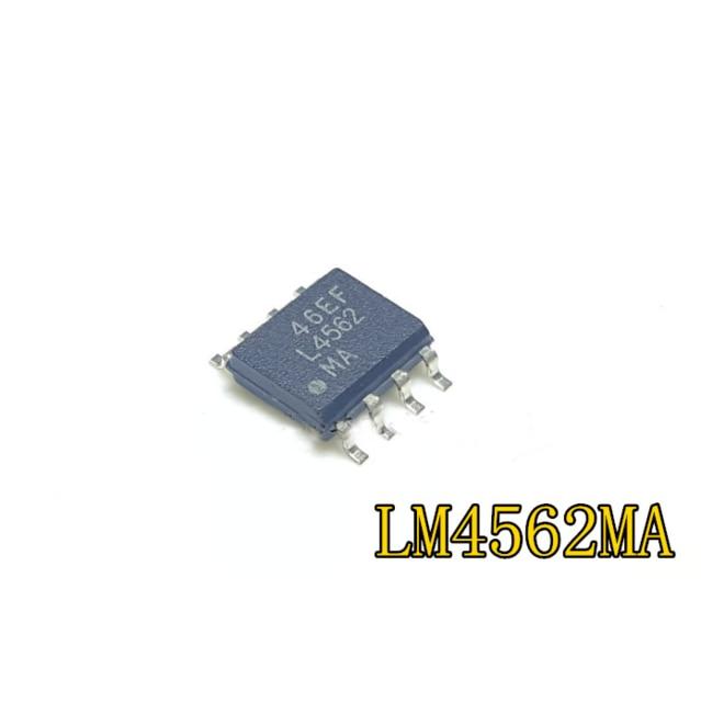 5pcs/lot LM4562MA LM4562 L4562 SOP-8 In Stock