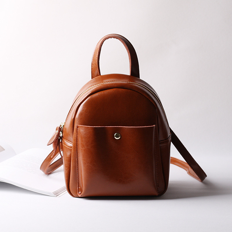 Women Backpacks 2018 New Solid Split Leather Female Bag Girl Top Handle Backpack Preppy Style Bags hmily 2018 new leather women s bags personalized ladies bag metal stamp accessory backpack korean style wave backpacks