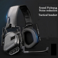 Tactical Anti Noise Hearing Protector Noise Canceling Earmuffs Hunting Shooting Headphones Tactics Headset|Tactical Headsets & Accessories|Sports & Entertainment -