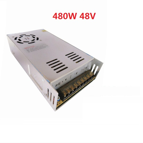 free shipping 48V 10A 480W Switching power supply Driver For LED Light Strip Display AC100-240V Factory Supplier switching led power supply18v 120w ac100 240v to dc36v 3 3a driver adapter for led strips light cnc cctv wholesale free shipping