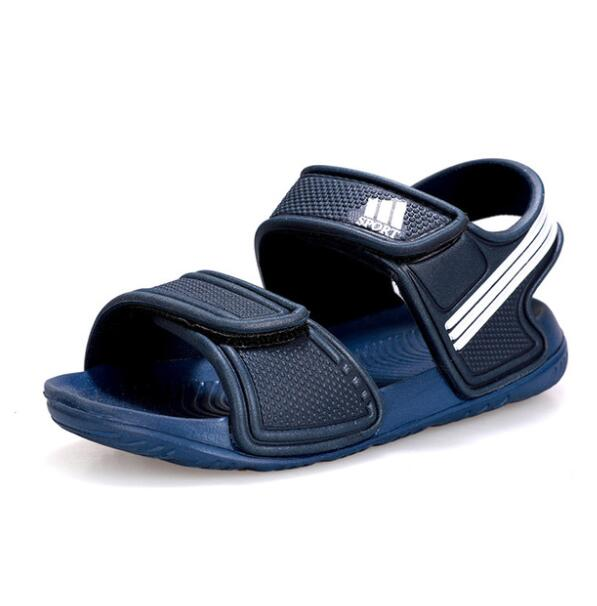 2020 Children Sandals Summer Fashion Boys Beach Soft Sandals Girls Candy Color Cute Comfortable Shoes Size 25 To Size 36