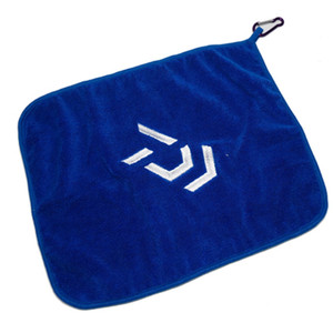 Image 3 - DAIWA New Fishing Towel Thickening Non stick Absorbent Outdoors Sports Wipe Hands Towel For Hiking Climbing Fishing