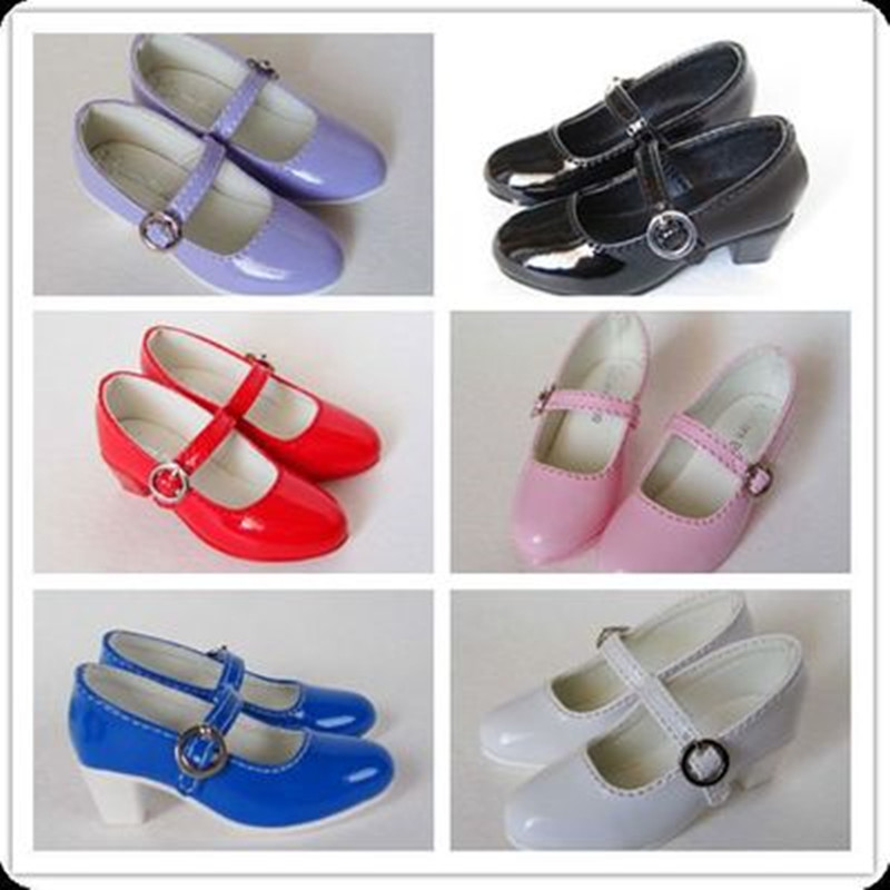 1/3 1/4 BJD Doll female shoes db38 - 6 colors msd uncle 1 3 1 4 1 6 doll accessories for bjd sd bjd eyelashes for doll 1 pair tx 03