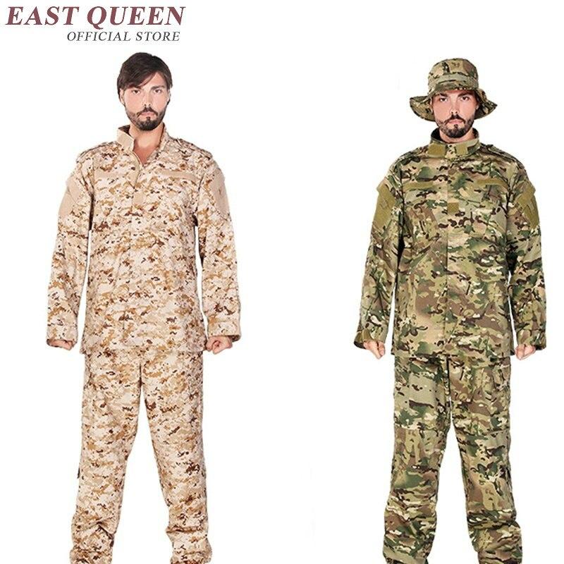 Vêtements de chasse Camouflage costumes en plein air militaire tactique uniforme de formation de l'armée uniforme pour les jeux Airsoft AA2400 YQ - 3